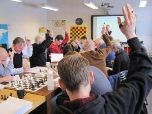 Lærere og pædagoger udfordrer deres skakviden