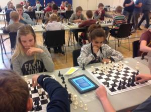 Børn i alle aldre var med til Horsens Byskole Cup